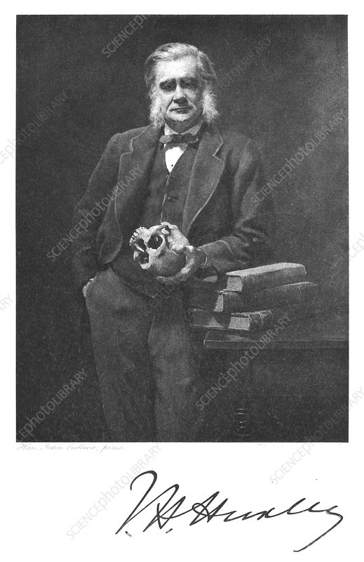 Thomas Henry Huxley, English biologist, 1883