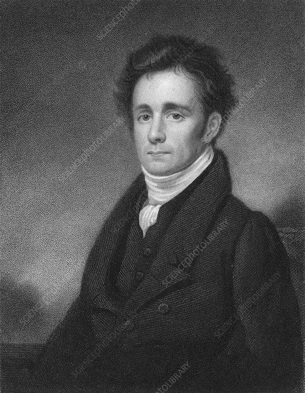 Robert Jameson, Scottish mineralogist, 1833