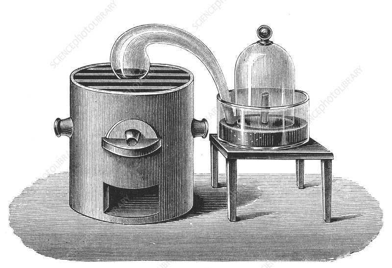 Lavoisier's investigation of the existence of oxygen in air