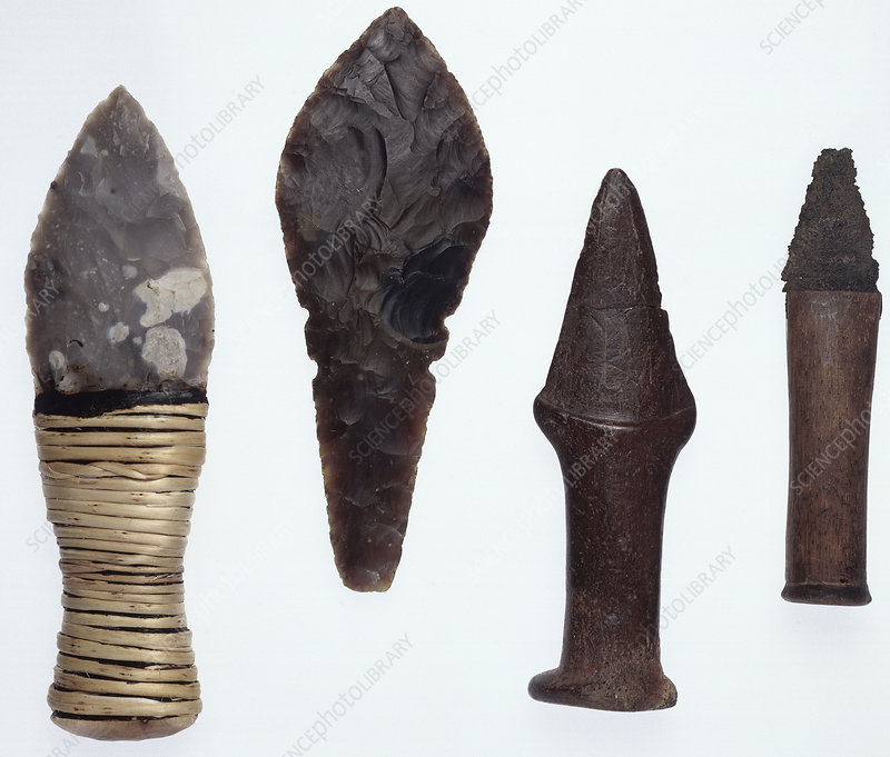 Prehistoric late Neolithic daggers