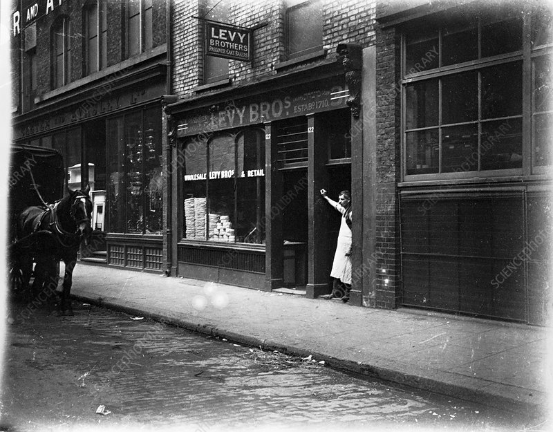 Levy Brothers' unleavened bread bakery, London