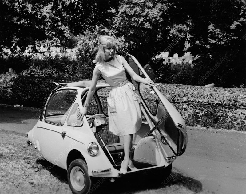 Trojan 'Bubble Car', c1962