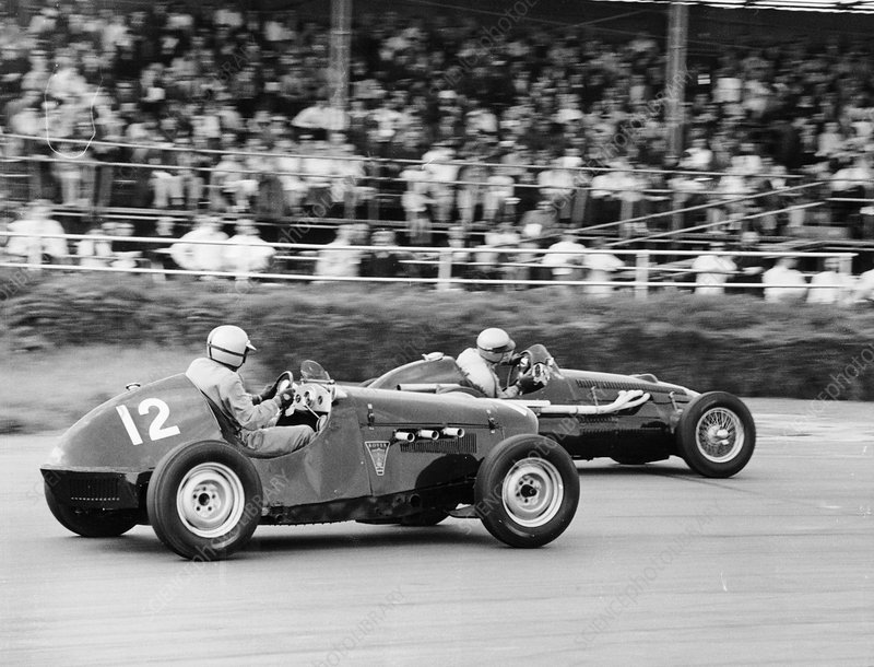 1949 Rover Special and 1951 Alta, Silverstone, 1968
