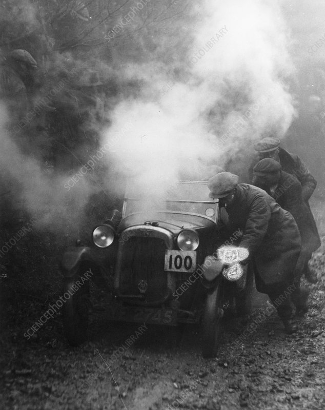 1928 Austin 7 Gordon England cup at the Exeter trial