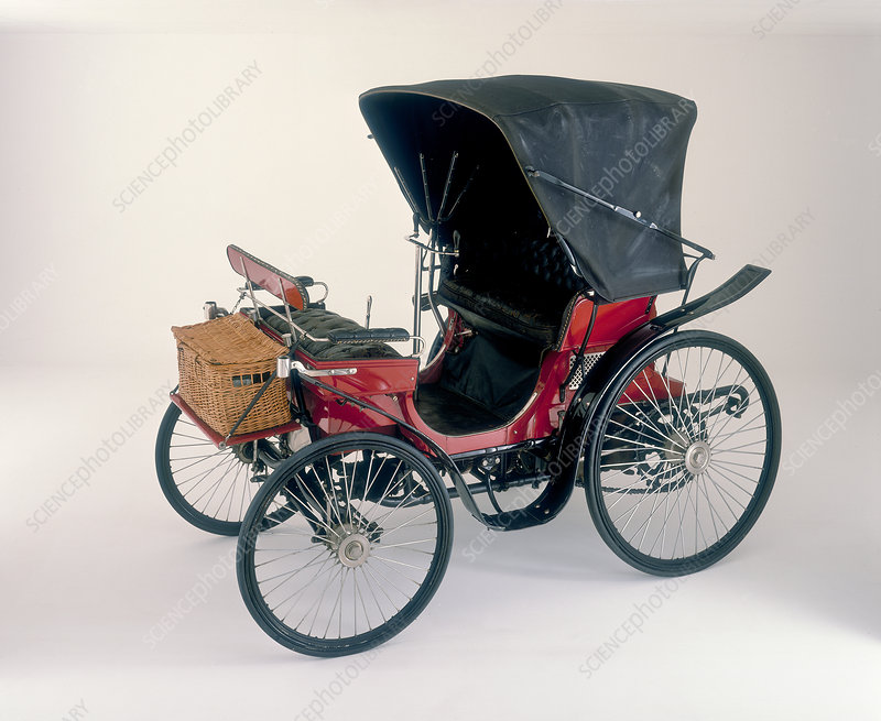 1896 Peugeot 3.5 hp horseless carriage