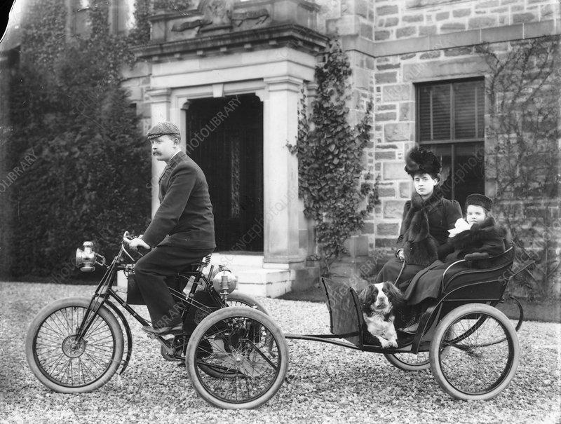 A De Dion tricycle