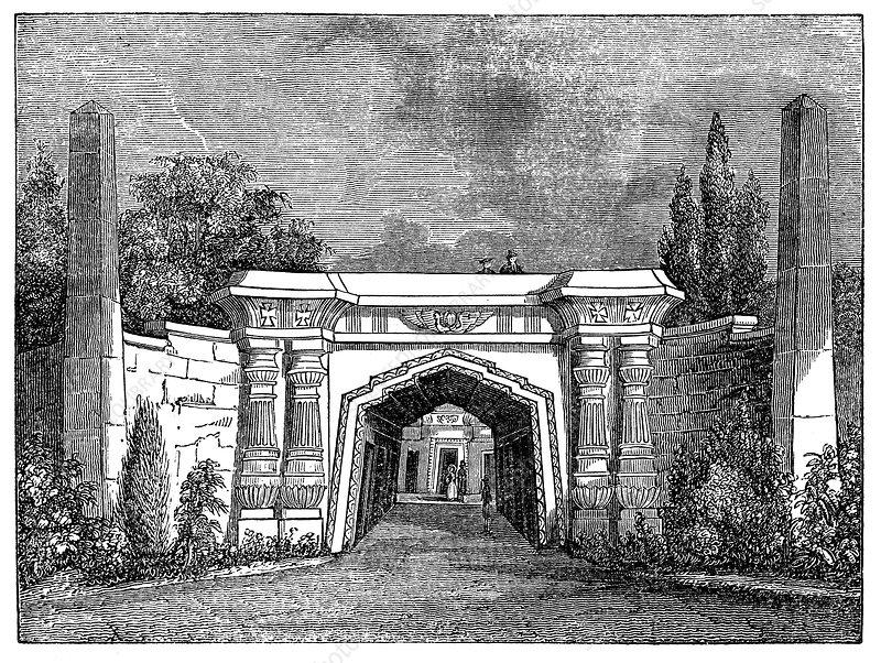 Highgate Cemetery, London, 1838