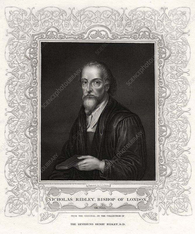 Nicholas Ridley, Bishop of London', 19th century