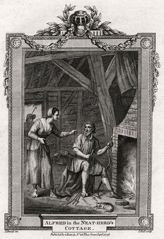 Alfred in the Neat-Herd's Cottage', 1776