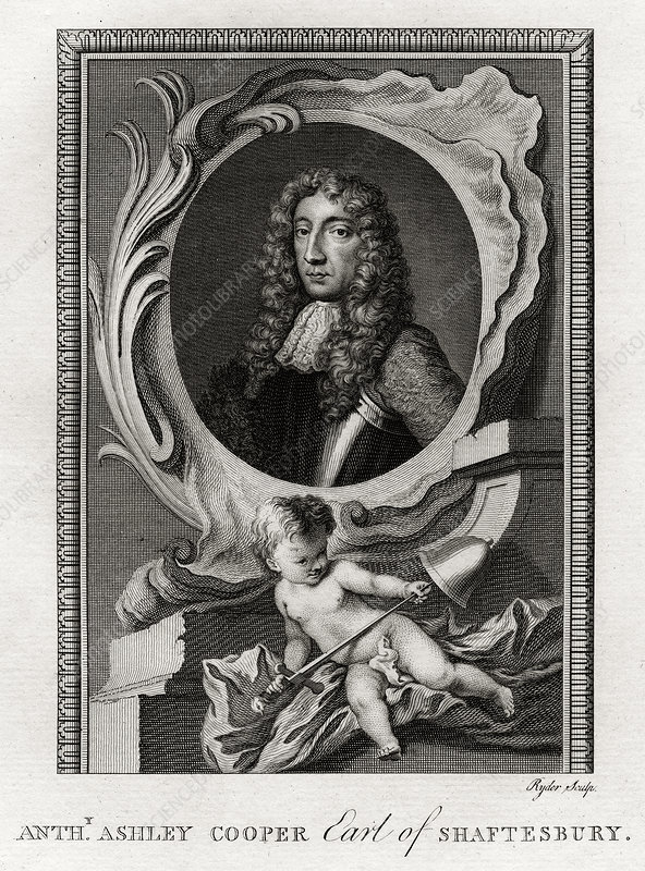 Anthony Ashley Cooper, Earl of Shaftesbury', 1777