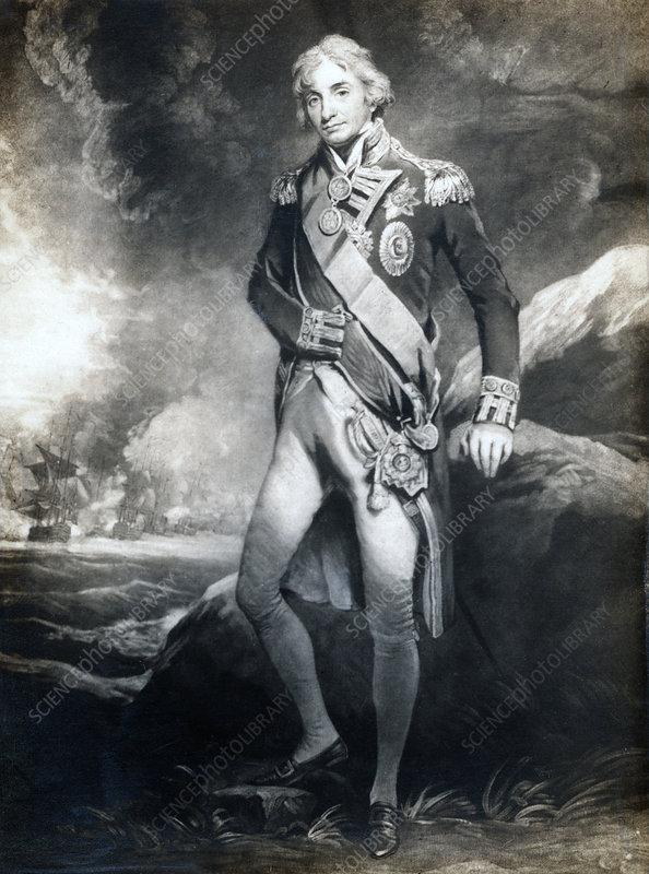Horatio Nelson, 1st Viscount Nelson, English naval commander