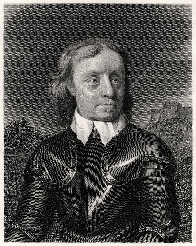 Oliver Cromwell, 19th century