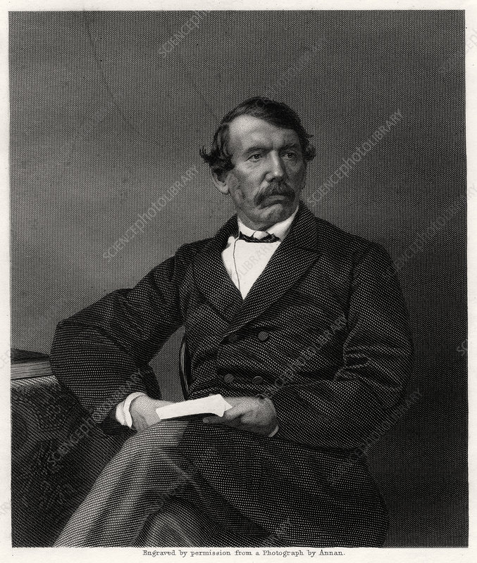 David Livingstone, Scottish missionary and African explorer