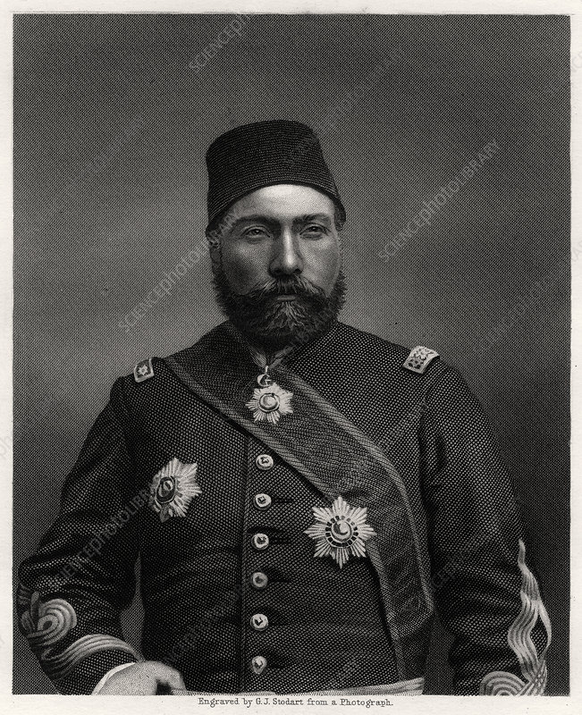 Osman Nuri Pasha, field marshal of the Ottoman Empire