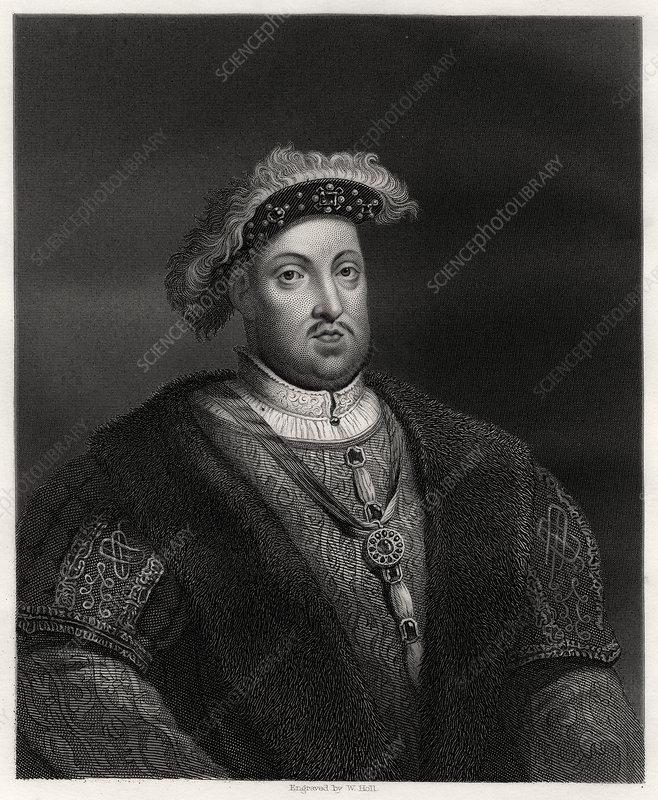 Henry VIII, King of England and Ireland, 19th century