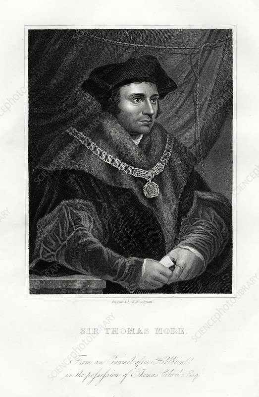 Thomas More, English statesman, scholar and saint