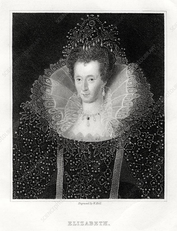 Queen Elizabeth I, 1860