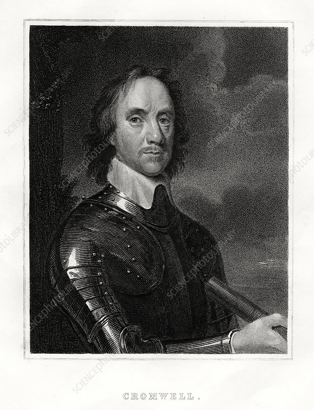 Oliver Cromwell, 1860