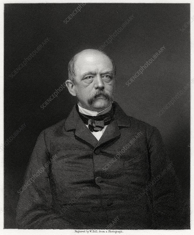 Otto von Bismarck, German statesman, 19th century
