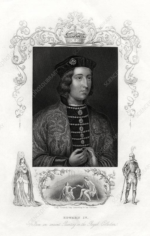 Edward IV, King of England, 1860
