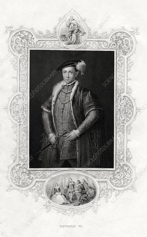 Edward VI, King of England and Ireland, 1860