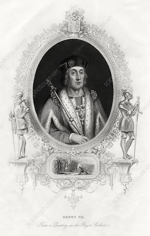 Henry VII, first Tudor King of England, 1860