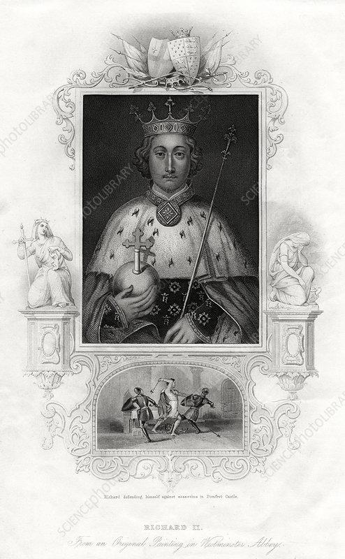 Richard II, King of England, 1860