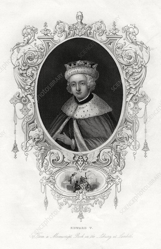 Edward V, King of England, 1860