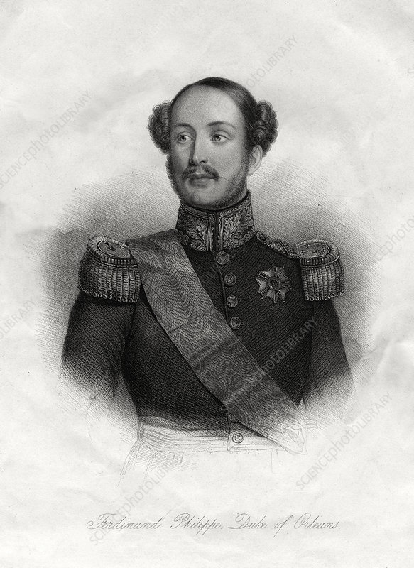 Ferdinand-Philippe, Prince Royal of France, 19th century