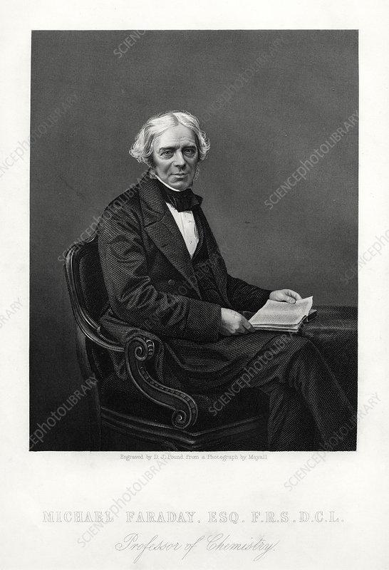 Michael Faraday, British scientist, c1880