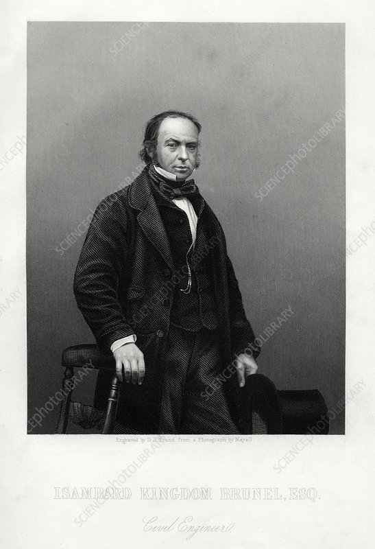 Isambard Kingdom Brunel, British engineer, c1880