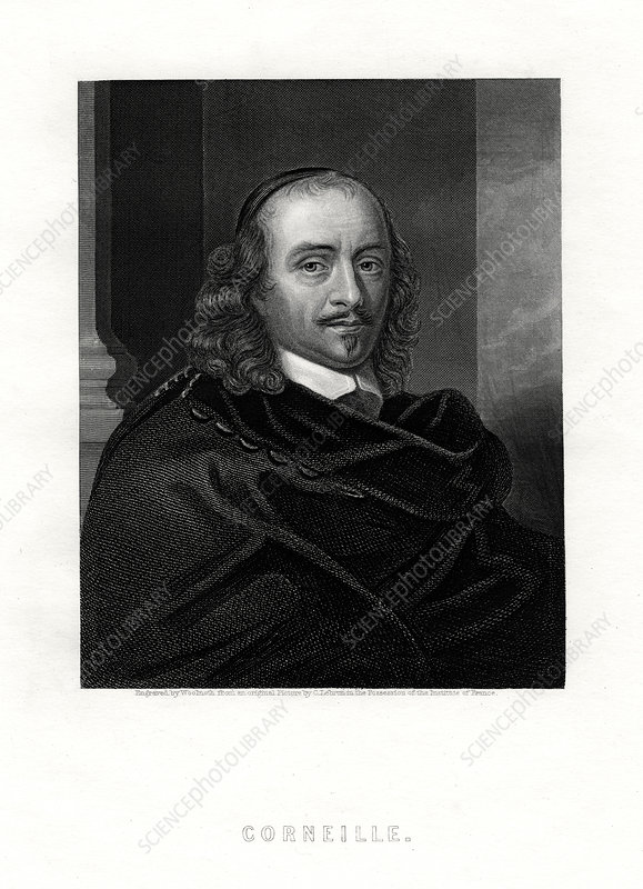 Pierre Corneille, French tragedian and dramatist