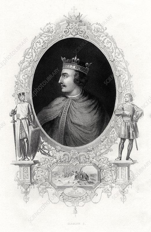 Henry I, King of England, 1860
