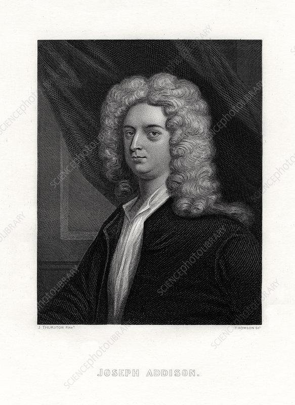 Joseph Addison, English politician and writer, 19th century
