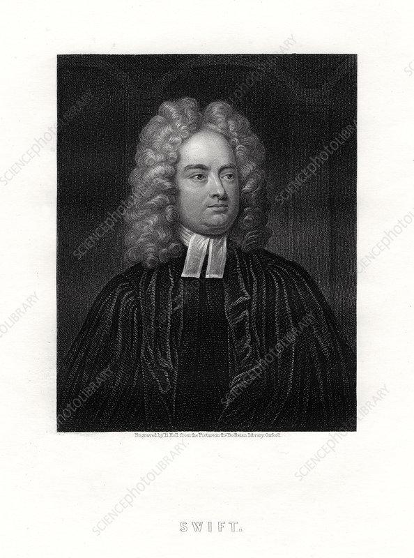 Jonathan Swift, Anglo-Irish writer, 19th century