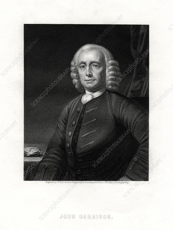 John Harrison, English clock maker, 19th century