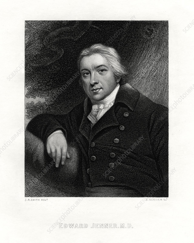 Edward Jenner, English country doctor, 19th century