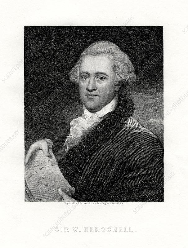 Wilhelm Friedrich Herschel, British astronomer and composer