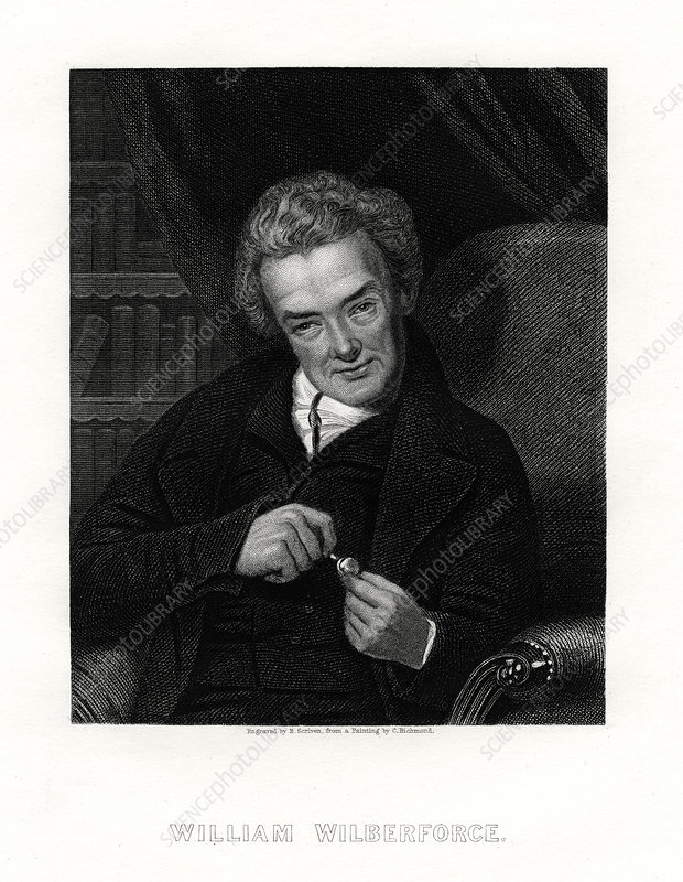 William Wilberforce, English anti-slavery campaigner