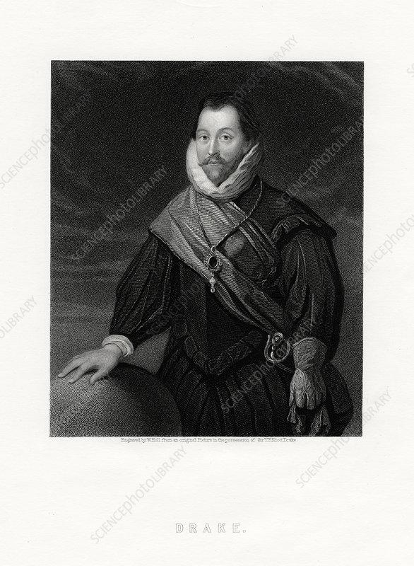 Sir Francis Drake, English privateer and politician