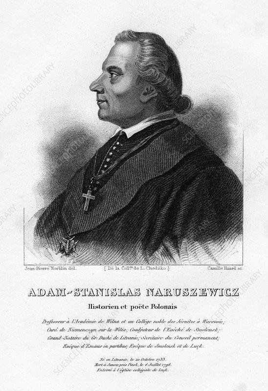 Adam Naruszewicz, Polish nobleman, 19th century