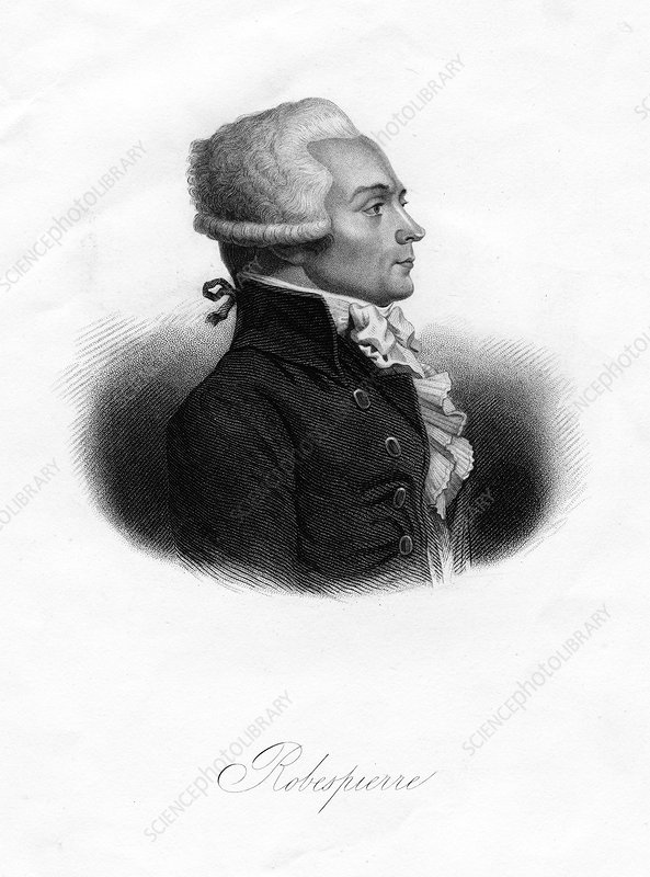 Maximilien Robespierre, leader of French Revolution