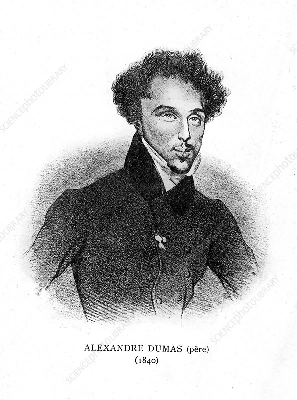 Alexandre Dumas the Elder, French novelist and playwright