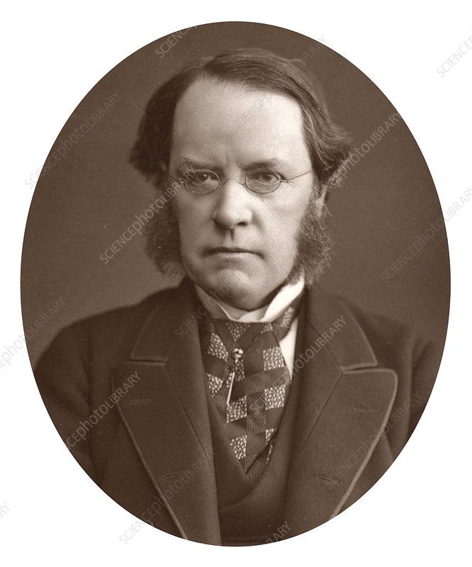 Lyon Playfair, Scottish chemist and politician, 1877