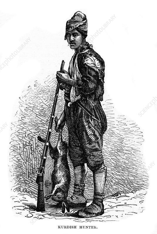 Kurdish hunter, 19th century