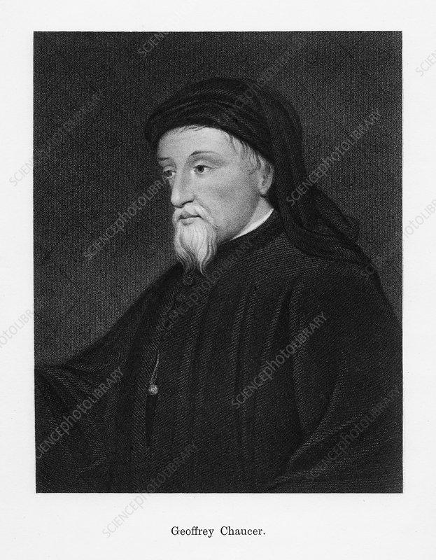 Geoffrey Chaucer, English author