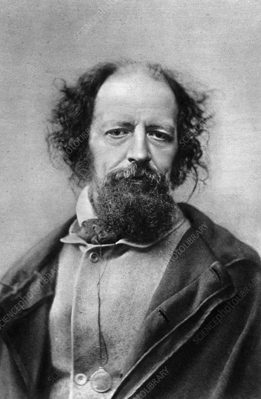 Alfred, Lord Tennyson, Poet Laureate of the United Kingdom