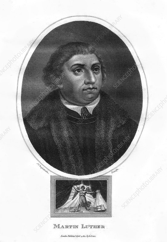 Martin Luther, German theologian and ecclesiastical reformer