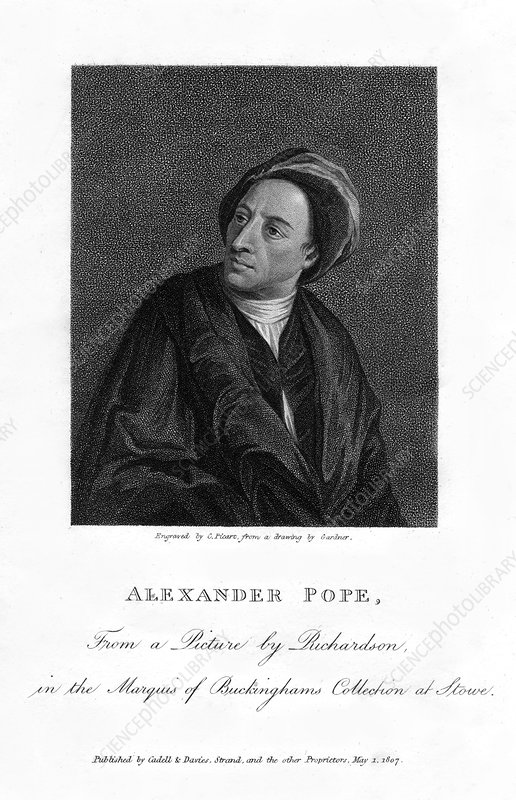 Alexander Pope, English poet