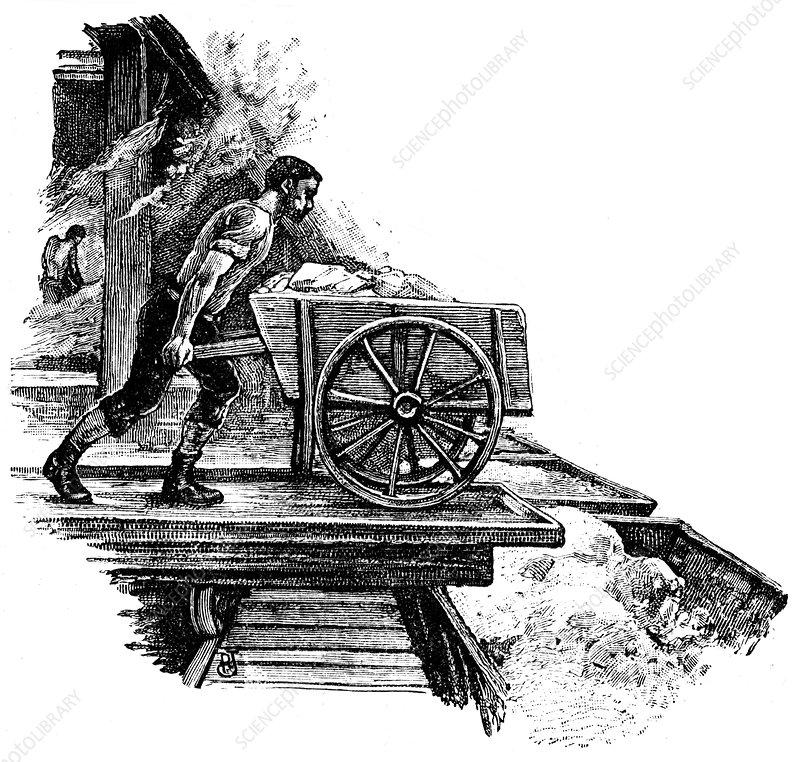 South Durham Salt Works, 1884